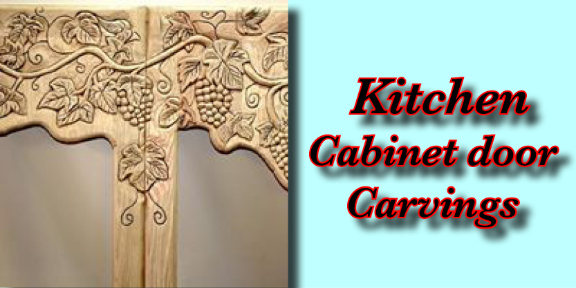 kitchen cabinet door carvings, architectural carving