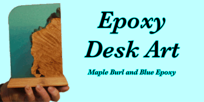 Epoxy and Burl wood desk art, art resin, desk, epoxy