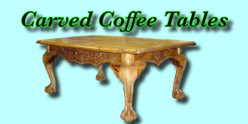 Carved coffee Tables, furniture store, coffee table,