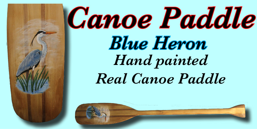 Canoe Paddle Hand painted Numbered and signed very cool prints wildlife Tall Ships Military Kandahar Prints