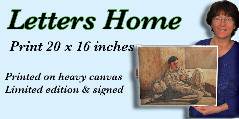 Letters Home Numbered and signed very cool prints wildlife Tall Ships Military Kandahar Prints