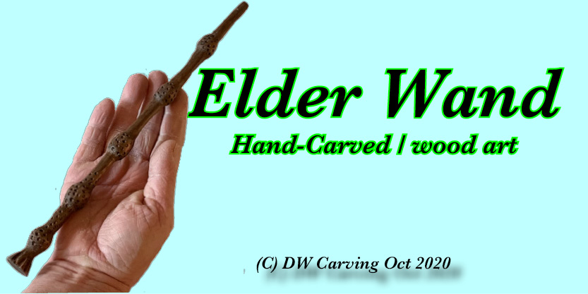 Elder Wand Carving