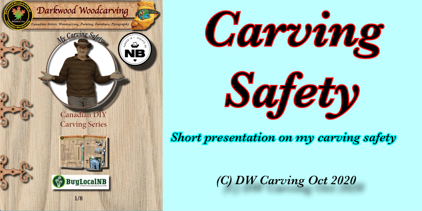 My Woodcarving Safety, Free carving lessons, free carving e-books  and free carving tutorials coming soon