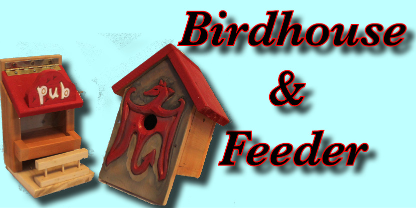 bluebird birdhouse, bird feeder, garden birdhouse