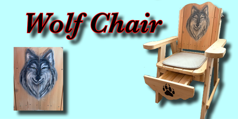 wolf chair, deck chair, garden chair, garden furniture