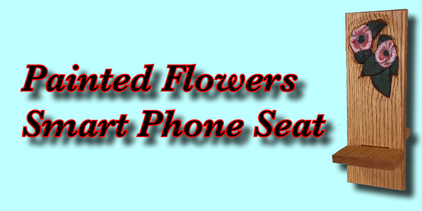 Phone Seat Flowers